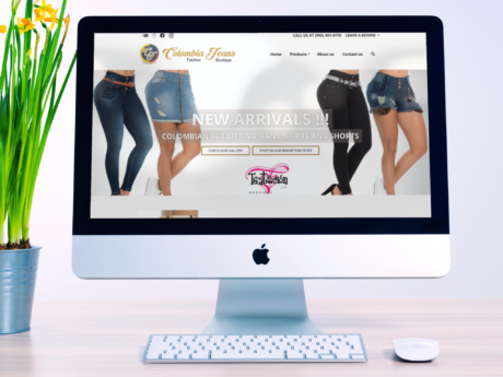 Clothing Store – Company Website