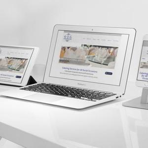 Catering Service WordPress Brochure Website