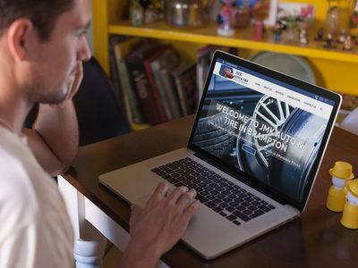 JMK AUTO TIRE - WORDPRESS E-COMMERCE SITE