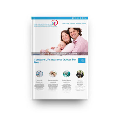 Life Insurance Broker – WordPress Company Website
