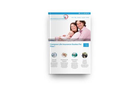 Life Insurance Broker – WordPress Company Website