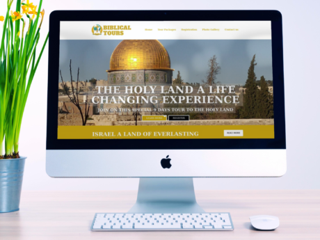 Tourism Promoter – WordPress Company Website