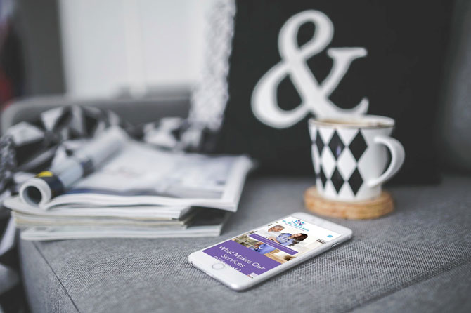 Home Care Service – WordPress Company Website