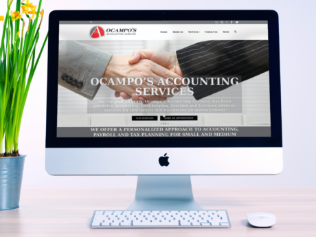 Accounting Services – WordPress Company Website – Website Redesign