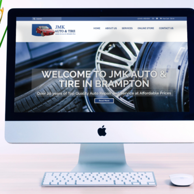 Automotive Repair Shop – WordPress E-commerce site
