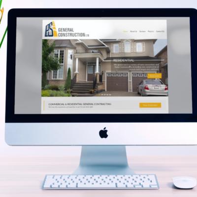 General Construction Contractor – WordPress Company Website