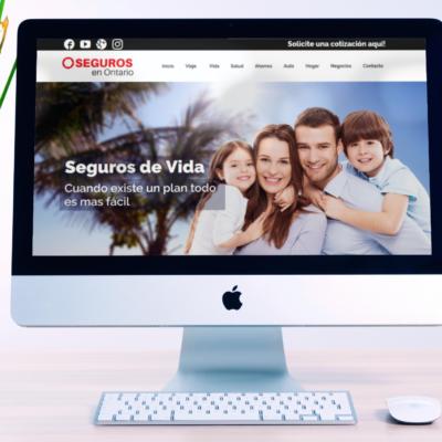 Insurance Broker – WordPress Company Website