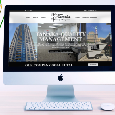 Cleaning Services –  WordPress Company Website