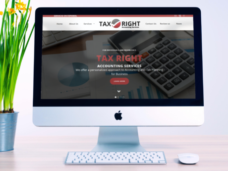 Accounting Services – WordPress Company Website