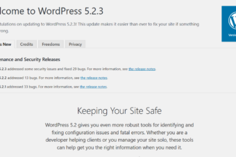 WordPress 5.2.3 Security and Maintenance Release