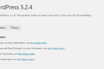 WordPress 5.2.4 Security Release is now available!