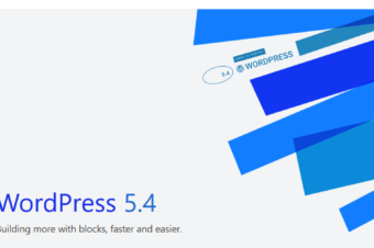 "WordPress 5.4 ""Adderley"" was released on March 31,2020"