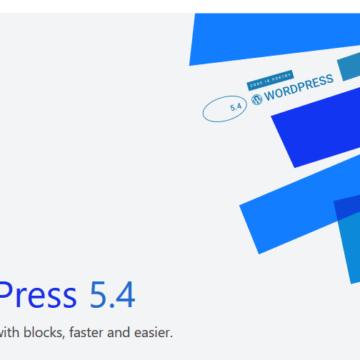 "WordPress 5.4 ""Adderley"" was released on March 31,2020"