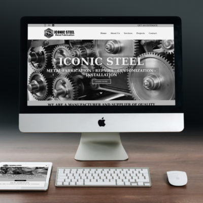 Metal Fabrication Company Website