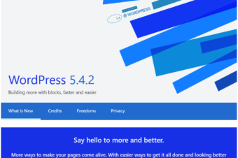 WordPress 5.4.2 Security and Maintenance Release was released on June 10,2020